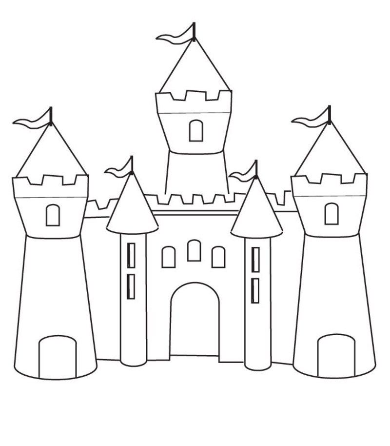 Le roi - Dessin de chateau ...